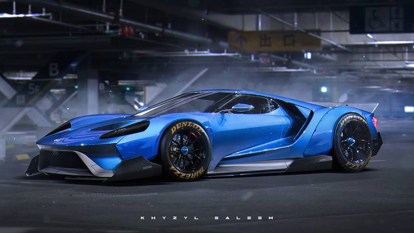 Liberty Walk Ford Gt Concept X At Rendering Liberty Walk Ford Gt Concept