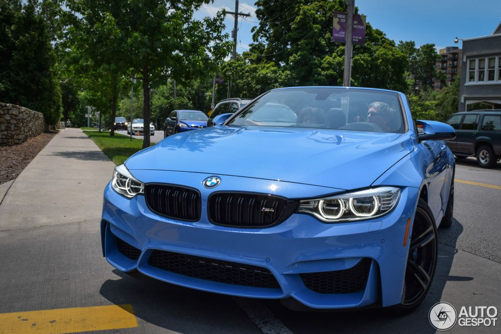 blue convertible bmw m4 - photo #11