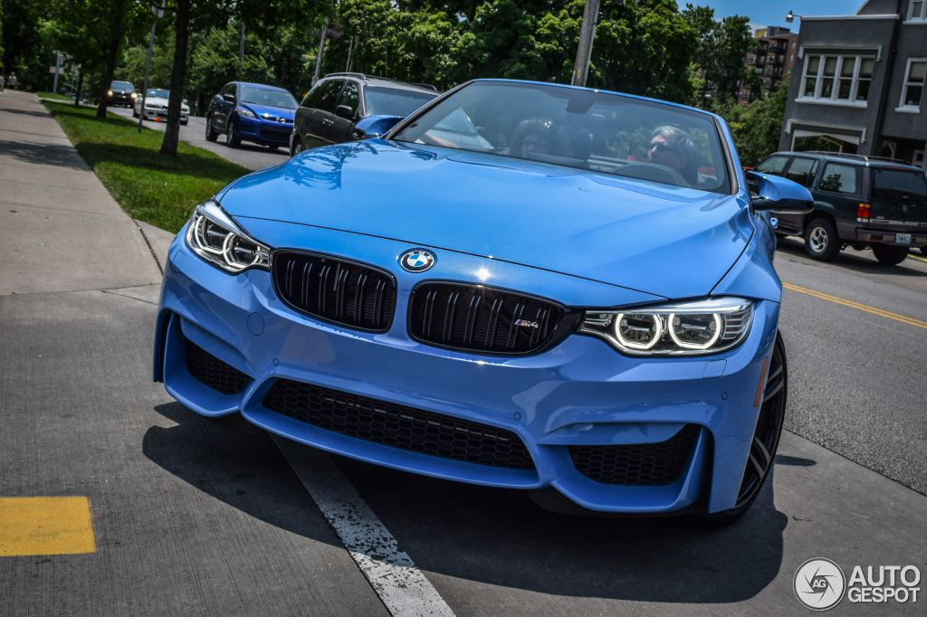 blue convertible bmw m4 - photo #6