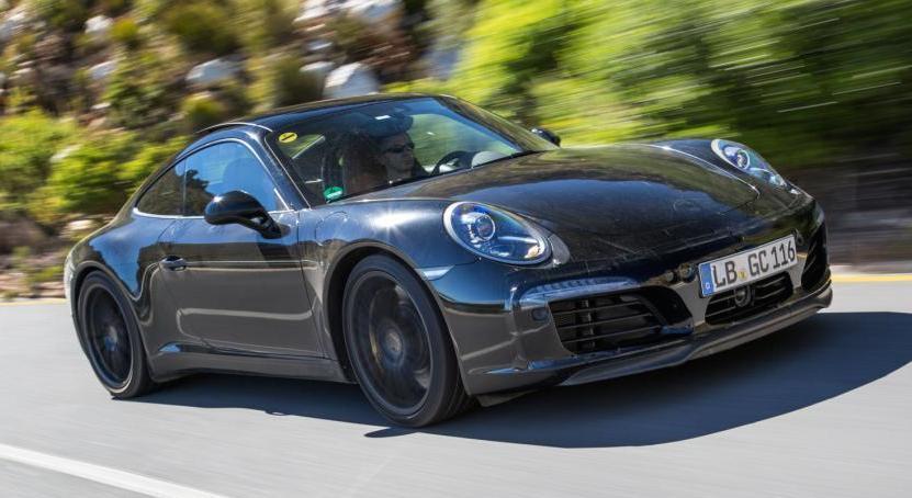 Porsche 991 Facelift SF 0 at Porsche 991 Facelift Teased in Official Spyshots