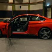 Red BMW 435i M Sport-10