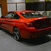 Red BMW 435i M Sport-13