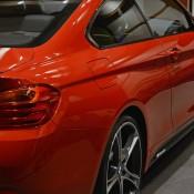 Red BMW 435i M Sport-14