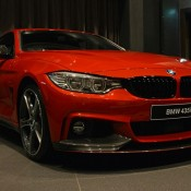 Red BMW 435i M Sport-5