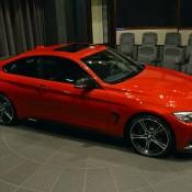 Red BMW 435i M Sport-6