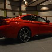 Red BMW 435i M Sport-8