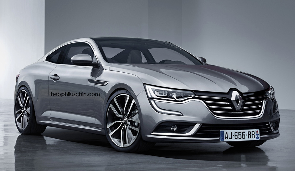 Rendering Renault Talisman Coupe