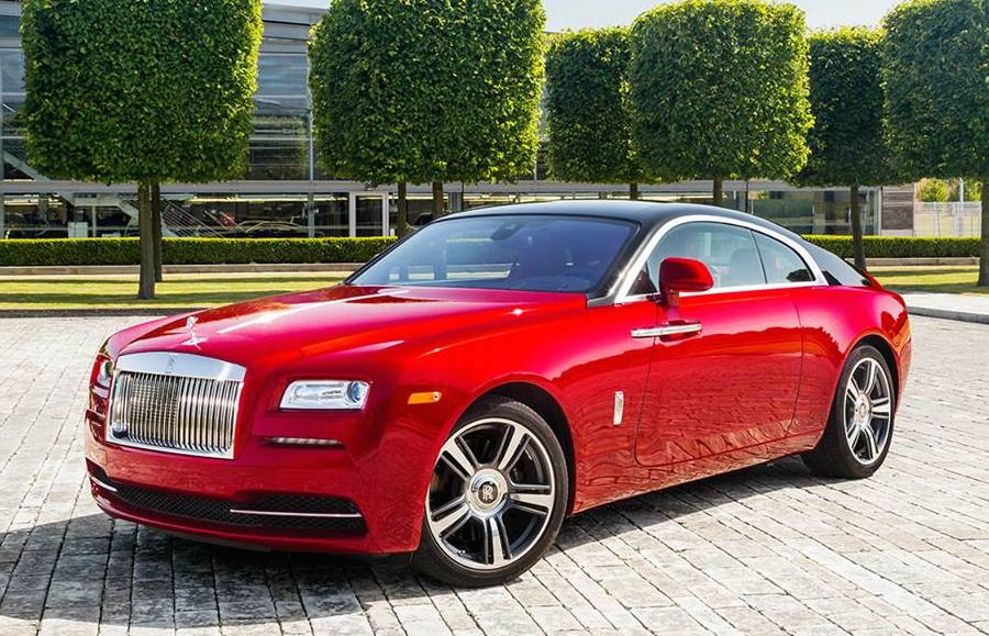Rolls Royce Wraith Inspector Morse Edition