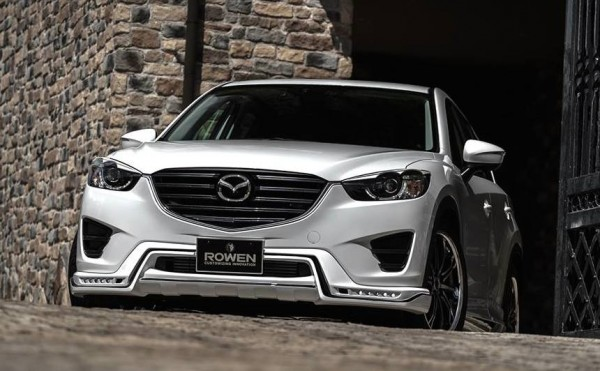 Rowen Mazda CX 5 0 600x371 at Rowen Mazda CX 5 Revealed with Dapper Looks