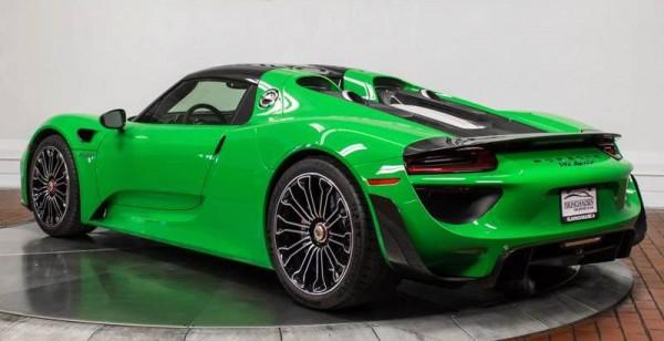 Signal Green Porsche 918 Weissach-00