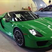 Signal Green Porsche 918 Weissach-1