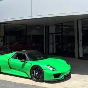 Signal Green Porsche 918 Weissach-5