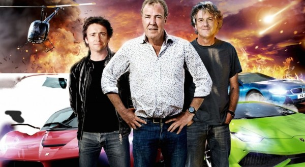 clarkson hammond may new show 600x329 at Clarkson, Hammond and May Sign with Amazon for New Car Show