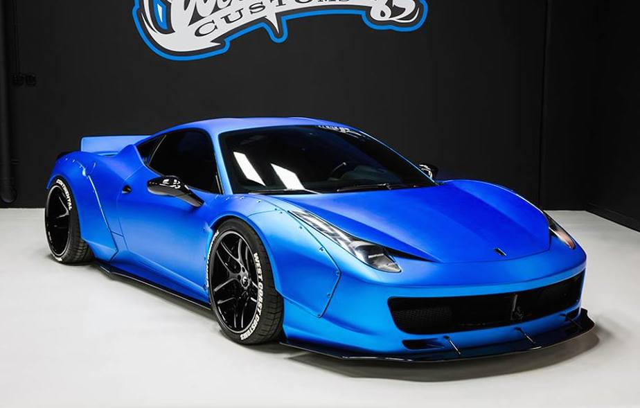 gallery justin bieber s liberty walk ferrari 458. Black Bedroom Furniture Sets. Home Design Ideas