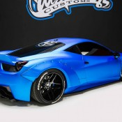 Bieber Liberty Walk Ferrari 458 15 175x175 at Justin Biebers Ferrari 458 Wide Body Is Up for Grabs