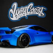 Bieber Liberty Walk Ferrari 458 4 175x175 at Justin Biebers Ferrari 458 Wide Body Is Up for Grabs