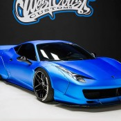 Bieber Liberty Walk Ferrari 458 8 175x175 at Justin Biebers Ferrari 458 Wide Body Is Up for Grabs