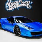 Bieber Liberty Walk Ferrari 458 9 175x175 at Justin Biebers Ferrari 458 Wide Body Is Up for Grabs