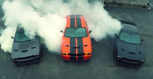 Dodge Challenger Hellcat Rubber