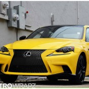 Gloss Yellow Lexus IS-1