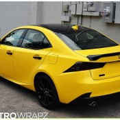 Gloss Yellow Lexus IS-2