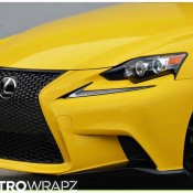 Gloss Yellow Lexus IS-5