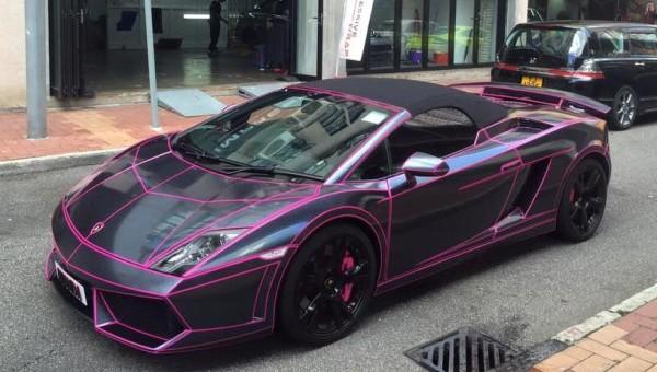 Lamborghini Gallardo Spyder Tron-0