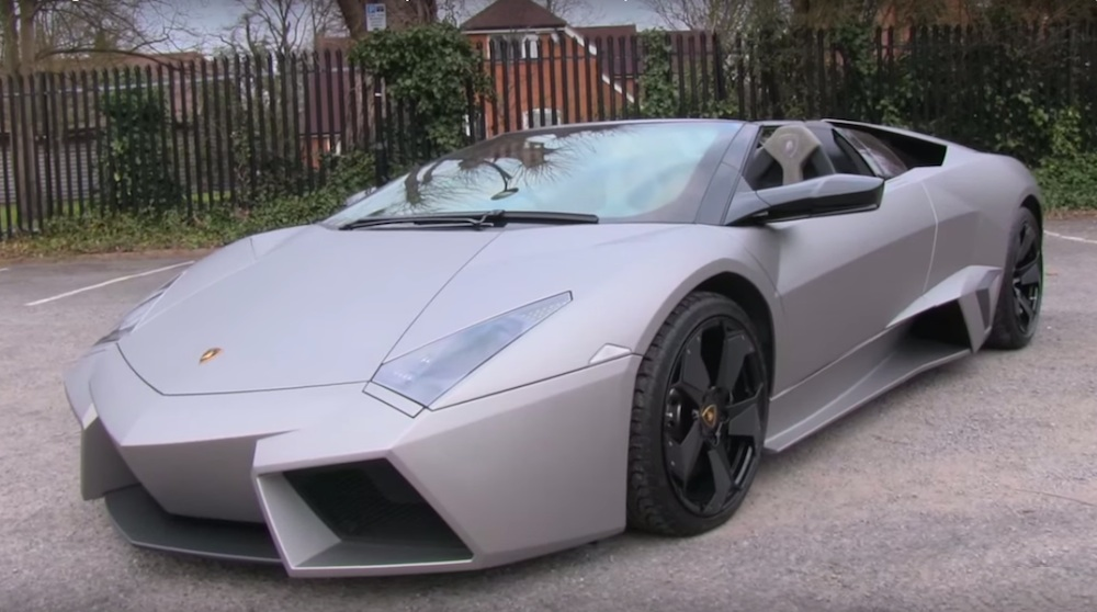 Lamborghini Reventon Roadster 600x334 At Sights And Sounds: Lamborghini  Reventon Roadster