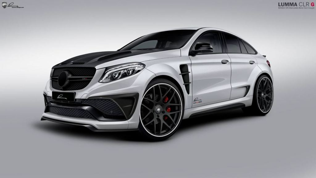 Official Lumma Mercedes Gle Coupe