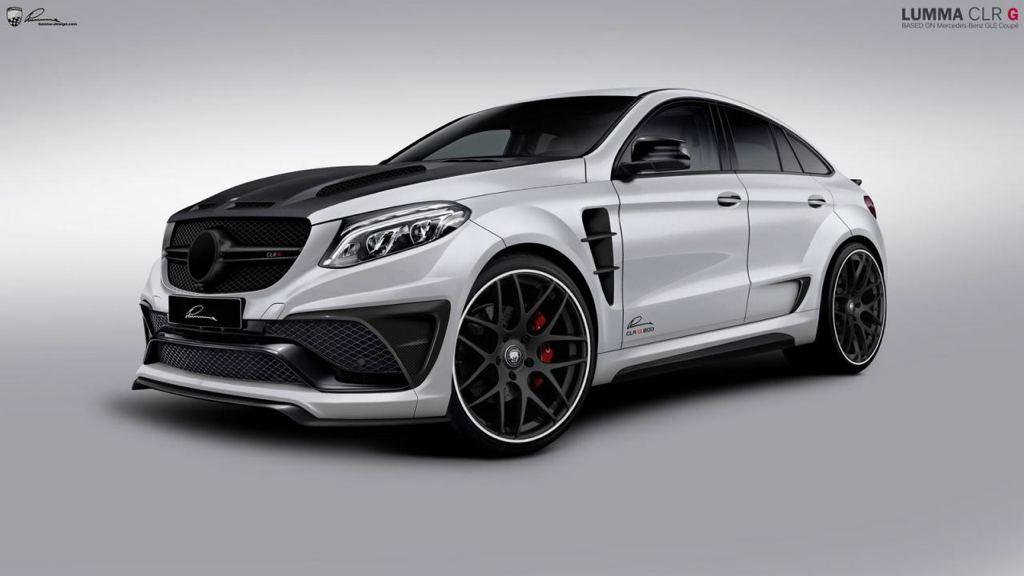Lumma Mercedes Gle Coupe Supertunes