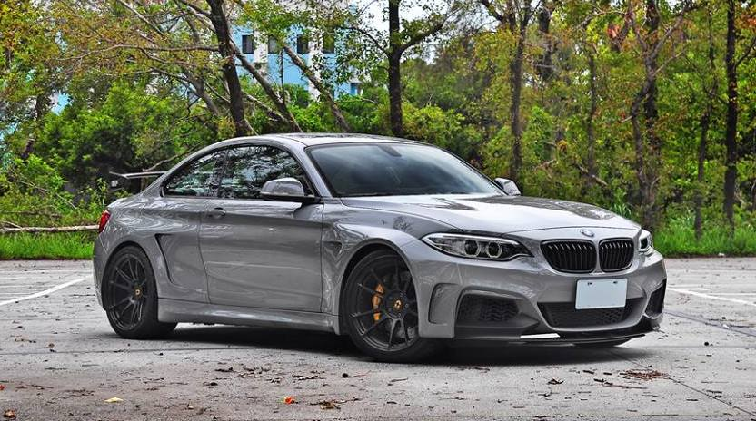 Manhart BMW M235i 0 600x334 At MH2 On HRE Wheels