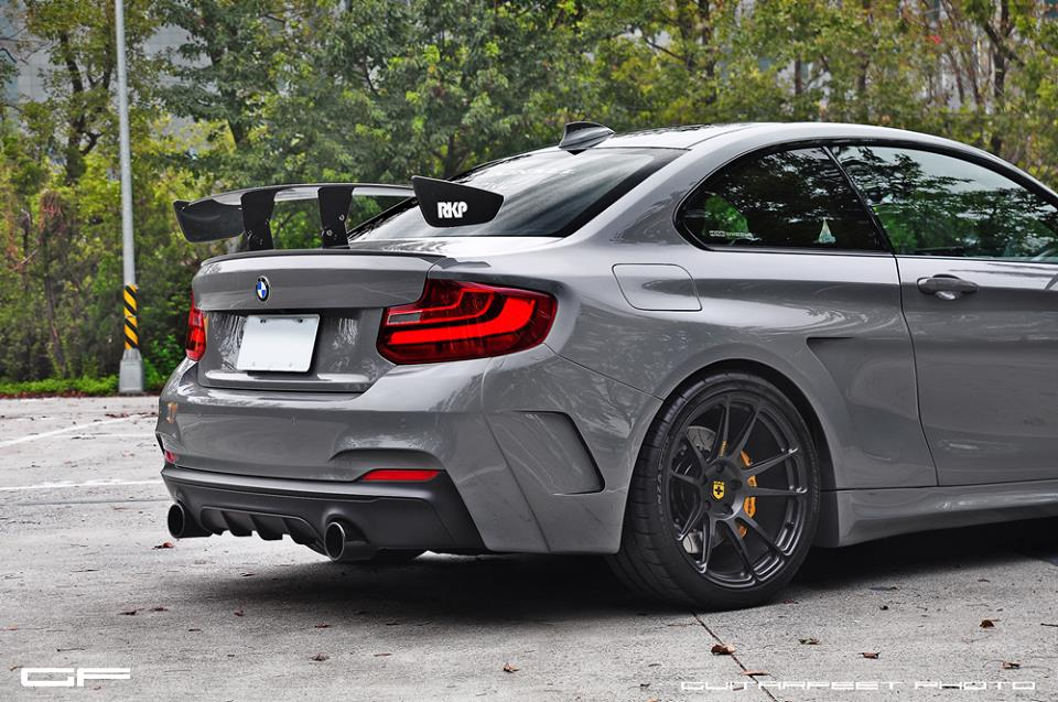 Manhart Bmw M235i Mh2 On Hre Wheels