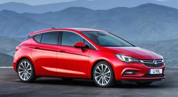 New Vauxhall Astra