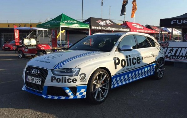 South Wales Police Audi RS4-0