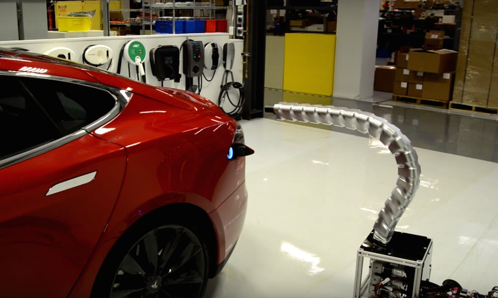 Tesla's Autonomous Charger Will Creep You Out! Motorward
