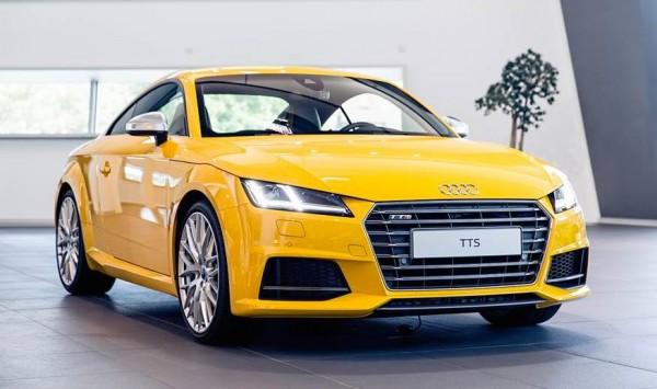 Vegas Yellow Audi TTS 0 600x355 at Gallery: Vegas Yellow Audi TTS Exclusive