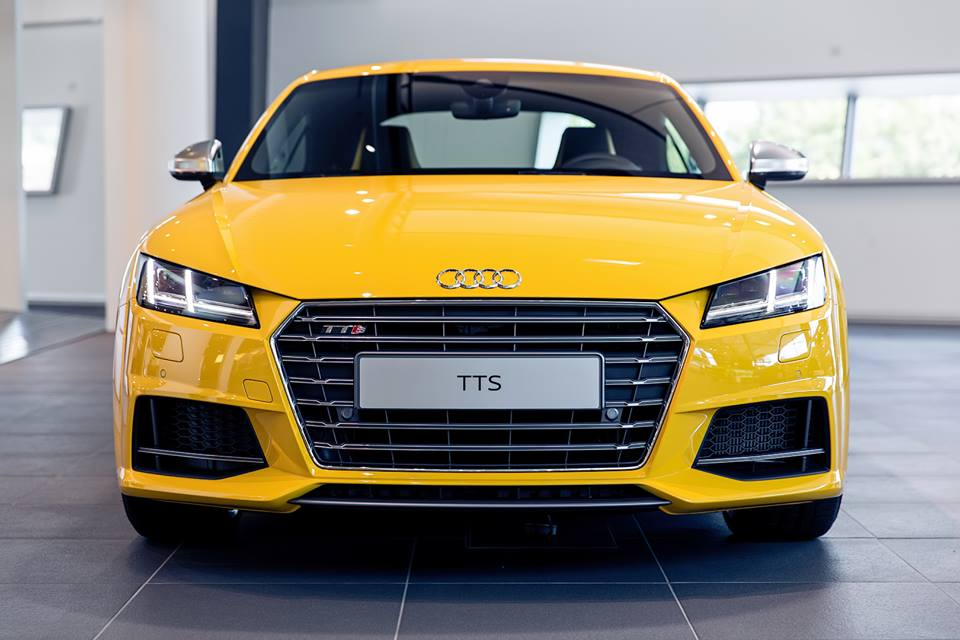 Gallery Vegas Yellow Audi Tts Exclusive
