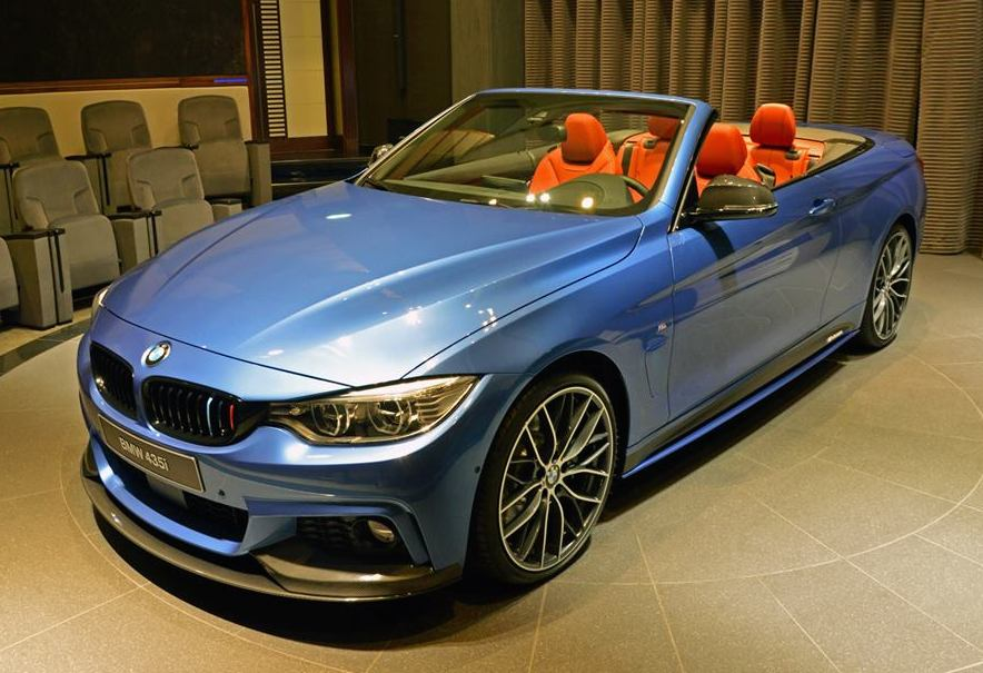 Bmw 428i Convertible 2017 >> Gallery: BMW 4 Series Convertible M Sport