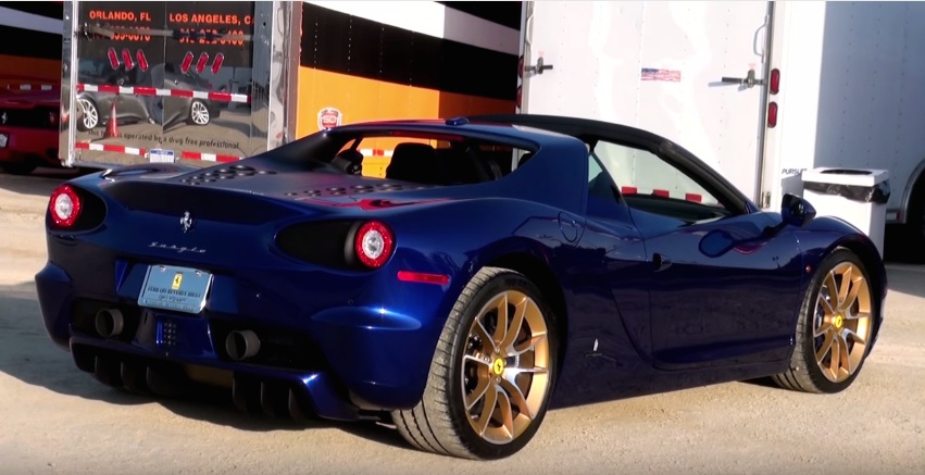Marino Chrysler Jeep Dodge >> Sights and Sounds: Blue Ferrari Pininfarina Sergio