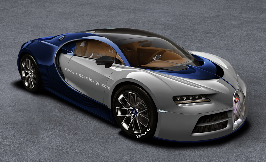 rendering bugatti chiron based on vision gt. Black Bedroom Furniture Sets. Home Design Ideas