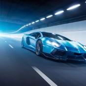 Custom Blue Aventador-1