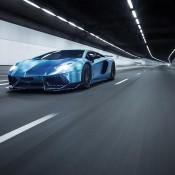 Custom Blue Aventador-12