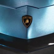 Custom Blue Aventador-7