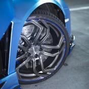 Custom Blue Aventador-8