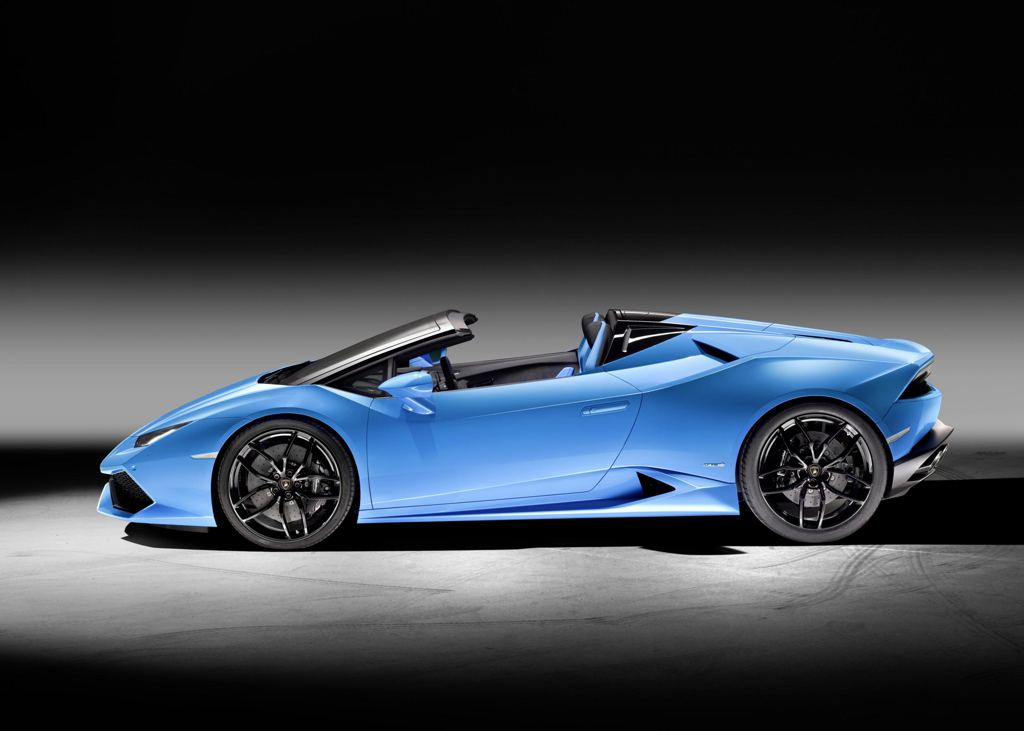 lamborghini huracan spyder goes official at iaa. Black Bedroom Furniture Sets. Home Design Ideas