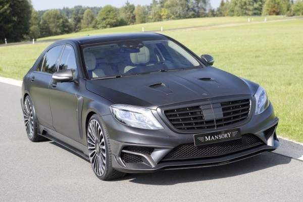 Mansory Mercedes S63 Black Edition-0