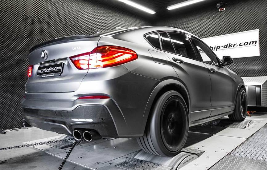 bmw x4 m sport by mcchip dkr. Black Bedroom Furniture Sets. Home Design Ideas