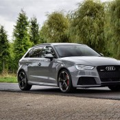 Nardo grey Audi RS3-4