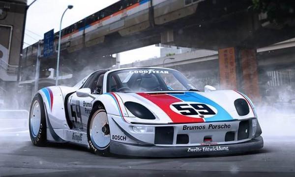 Porsche 918 RWB-1