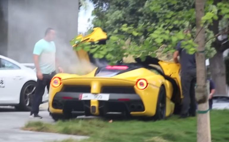 Mclaren Beverly Hills >> Qatari LaFerrari Breaks Down in Beverly Hills